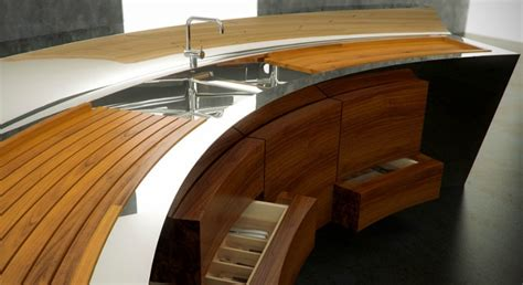 innovative kitchen design ideas innovative kitchens curvaceous countertops