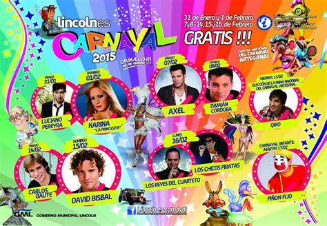 lincoln el lincoln el carnaval se transmitir 225 en vivo para todo el