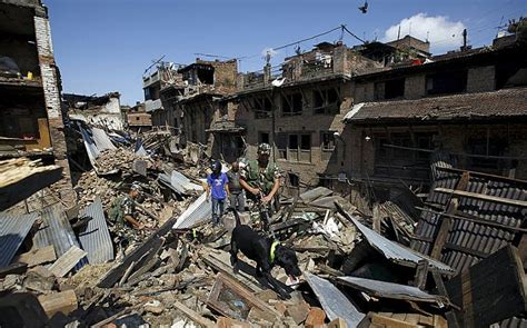 What Did Search For In 2015 Nepal Earthquake What Caused It And Will Another Disaster Happen On Mount Everest