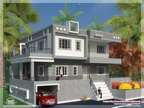 indian style minimalist house exterior design