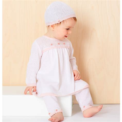 knitted dress baby le top baby knit dress treasured baby