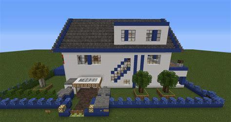 Grundstück Und Haus by Moderne Villa Mit Alarmanlage Minecraft Project