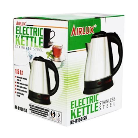 Teko Listrik Otomatis jual teko listrik airlux 1 5 liter ke 8150 murah harga