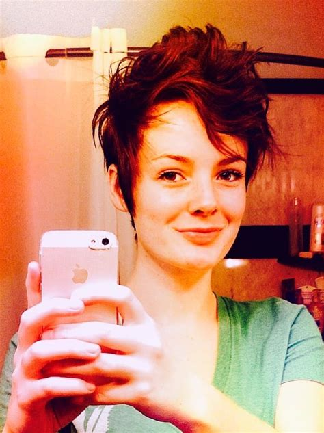 tapered pixie haircut pixie haircut w tapered sides short hairstyles pinterest