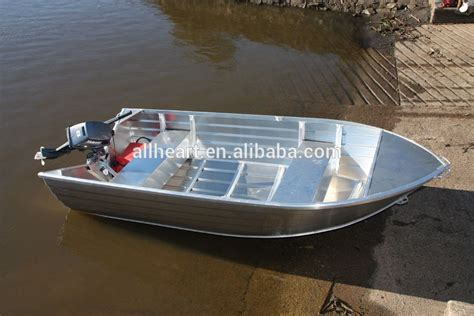 aluminum fishing boat weight aluminum v hull power rowing boats with outboard egine