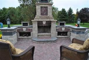 Prefabricated Outdoor Fireplace - outdoor fireplace kits landscaping network