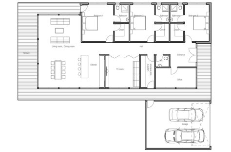 modern home design floor plans contemporary home design ch163 with full wall height