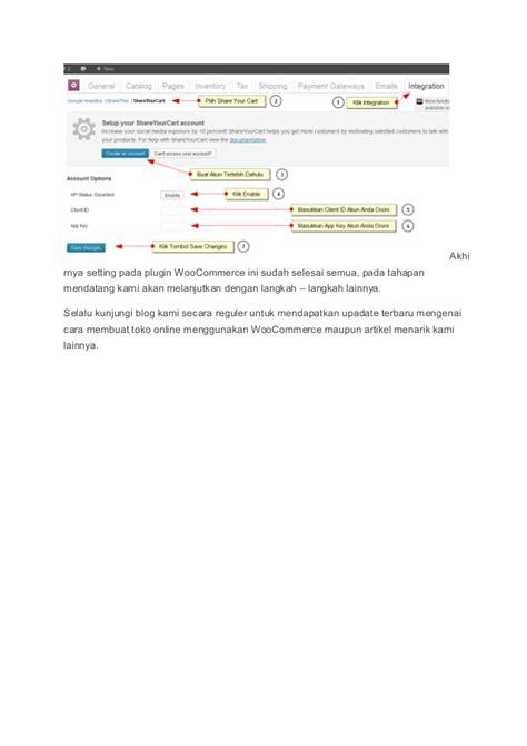membuat toko online menggunakan blogspot cara membuat toko online menggunakan woo commerce