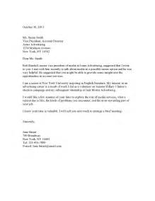 Free Simple Cover Letter Exles by Basic Cover Letter Resume