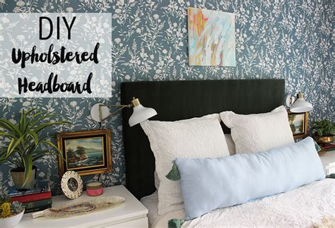 how to build upholstered headboard diy upholstered headboard thewhitebuffalostylingco com