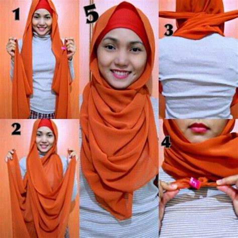 niqab tutorial without pins quick and easy hijab tutorial with no pins hijabiworld