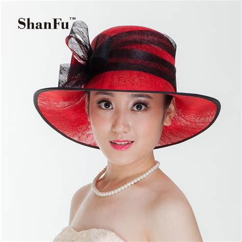 kentucky derby hats for short hair shanfu vintage sinamay fascinator hat for grand national