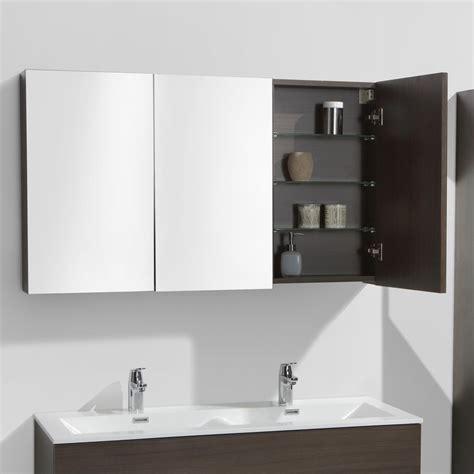 armoire 120 cm de largeur armoire de toilette bloc miroir siena largeur 120 cm
