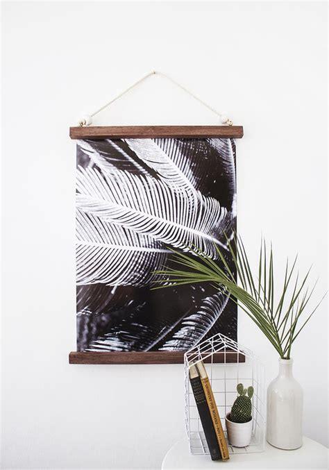 print hanging frame diy hanging half frame design sponge