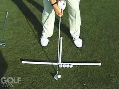 golf swing ball position golf tips magazine ball position youtube