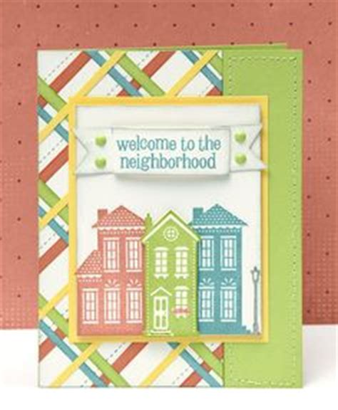 Close To My Heart Sts On Pinterest Christmas Villages Paper Dolls And Close To Welcome To The Neighborhood Card Template