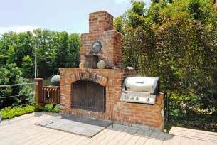 Outdoor Fireplace And Grill - gorgeous outdoor fireplace and built in grill lake norman real estate