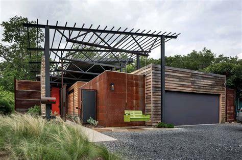 exceptional modern industrial texan dwelling casa bonita