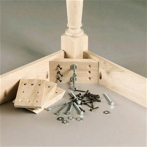 wooden chair corner braces corner brace kit dining table legs braces
