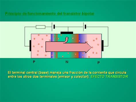 principio de funcionamiento transistor bipolar electr 243 nica b 225 sica monografias