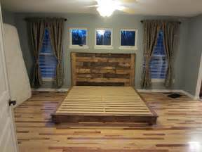 Building A Platform Bed King Size by How To Build A Wooden Bed Frame 22 Interesting Ways Guide Patterns