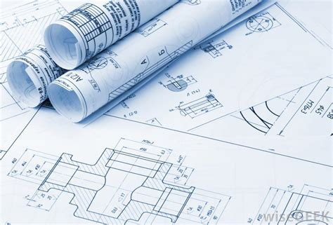 construction blue prints what are the different types of architect jobs with
