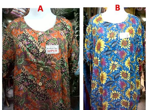 Kencono Jumbo Maxy Baju Dress Wanita Redea jual daster batik jumbo kencana ungu ready toko baju