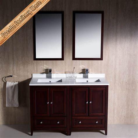 bathroom vanities ct fed 1069e 48 inch double sinks elegant quartz top modern