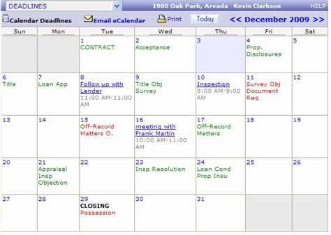 electronic calendar template electronic calendar template ctm econtracts