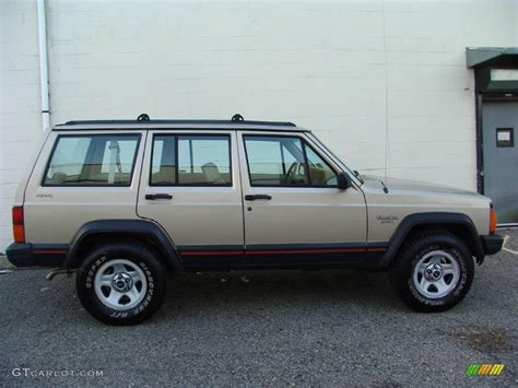 beige jeep 1994 light chagne beige metallic jeep sport