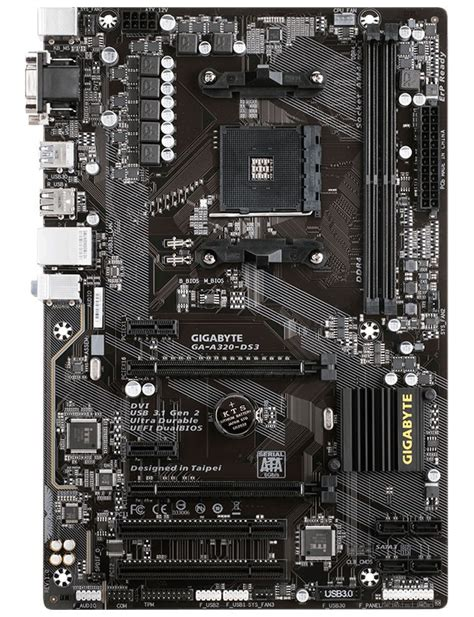 Gigabyte Ga A320m Hd2 des cartes m 232 res am4 encore plus abordables avec les gigabyte ga a320m hd2 et ga a320 ds3
