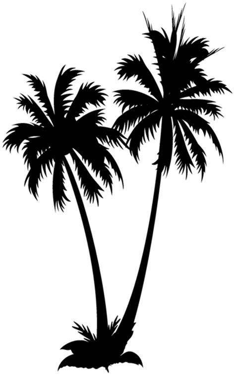 autocollant stickers dcoratif double palmier