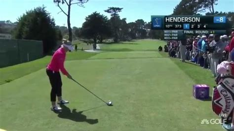 Swing Analysis Brooke Henderson S Unique Driver Swing