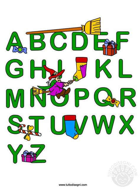 lettere della befana alfabeto della befana da stare tuttodisegni