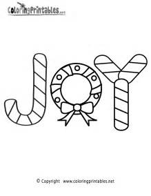 holiday coloring pages free christmas joy coloring page a free holiday coloring