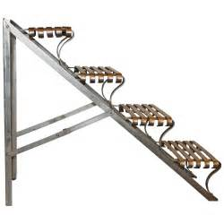 Foldable Stairs by Industrial Folding Steel Library Stairs At 1stdibs