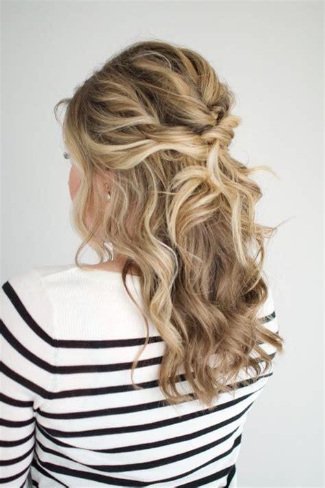 twisted half up tutorial h a i r prom hair medium