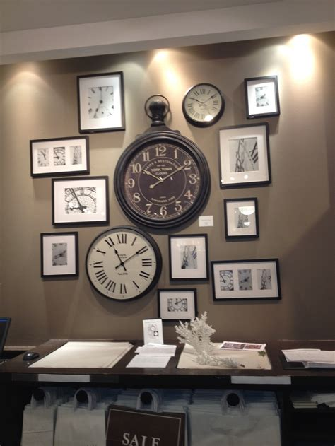 wall clock ideas 17 best images about wall clock collage arrangement ideas