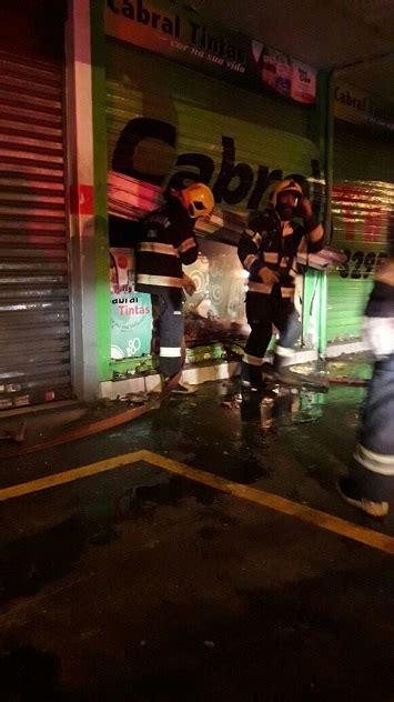 loja de roupas pega fogo no br 225 loja de tintas pega fogo na cidade jardim
