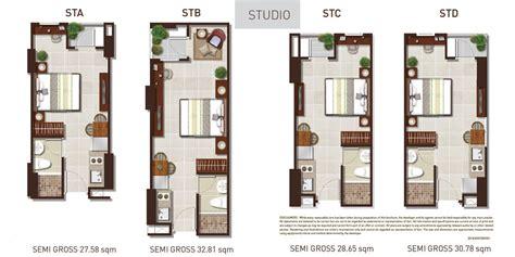 design interior untuk apartemen tipe studio jasa desain interior metro park residence