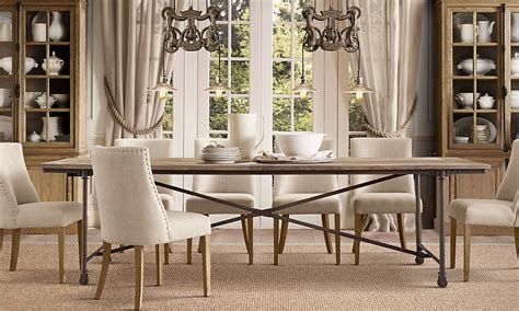 restoration hardware dining room tables rooms restoration hardware