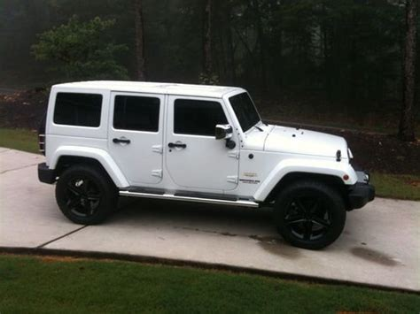 2012 Jeep Wrangler 4 Door For Sale Buy Used 2012 Jeep Wrangler Loaded Leather 4 Door