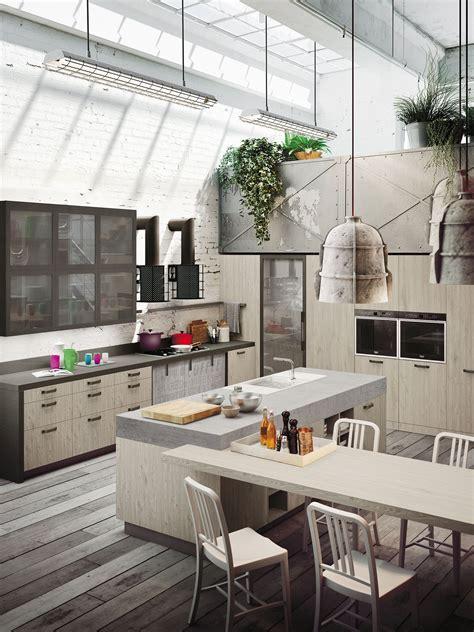 cucine per loft expression of the urban trends loft kitchen