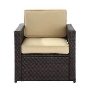 crosley furniture co7102 br palm harbor outdoor chair atg stores
