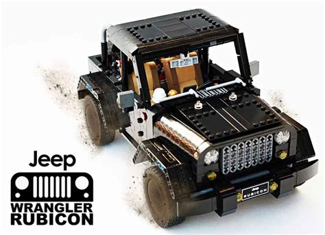 lego jeep wrangler lego jeep wrangler rubicon looks a showroom worthy project
