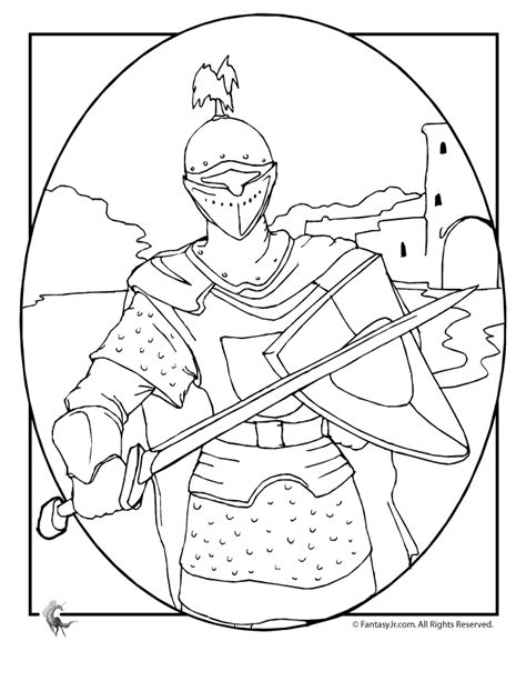 coloring pictures of knights and castles knights in shining armor coloring pages knights castles
