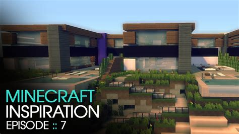 minecraft modern house 1 inspiration w keralis youtube minecraft inspiration w keralis modern townhouses