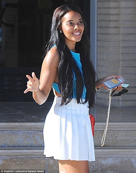 run dmc daughters shoes angela simmons displays toned physique in summery