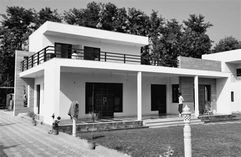 home design for village in india contemporary house architecture chattarpur farm house