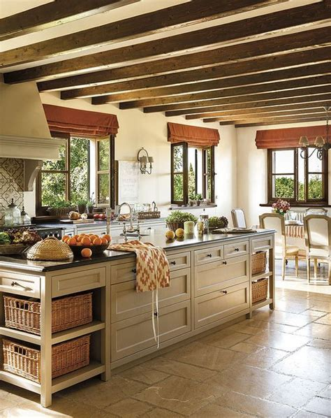 french country kitchen island beautiful french kitchen design island and windows